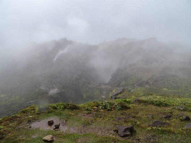 volcan, la soufrière, Basse Terre, Guadeloupe, randonnée