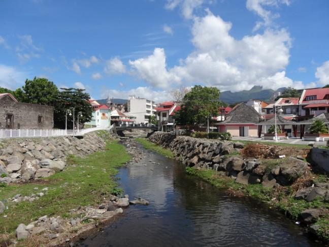 Basse Terre, Guadeloupe, rivière aux herbes