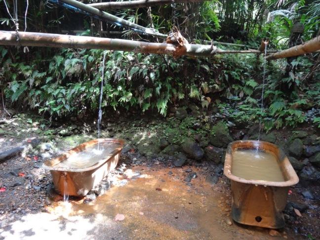 natural spas, wooden waven, dominica